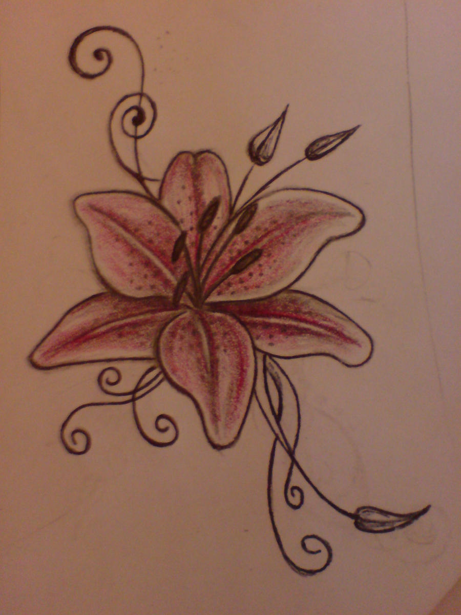 Beautiful flowers tattoo I want on my left side so I can get a ...