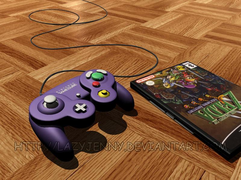 Gamecube Controller by LazyJenny on DeviantArt