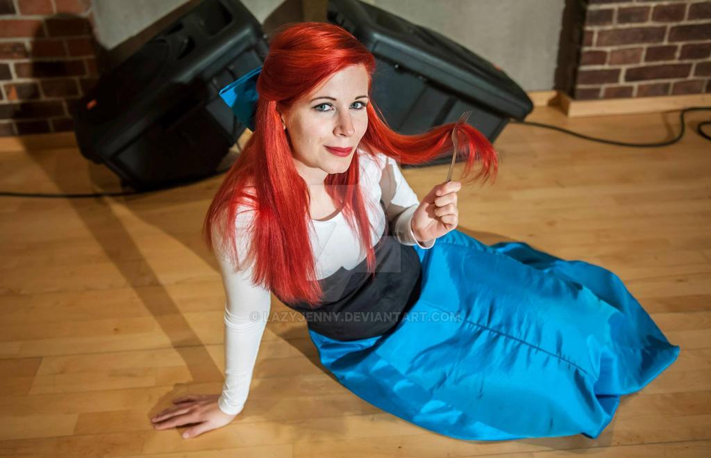 Ariel cosplay by LazyJenny