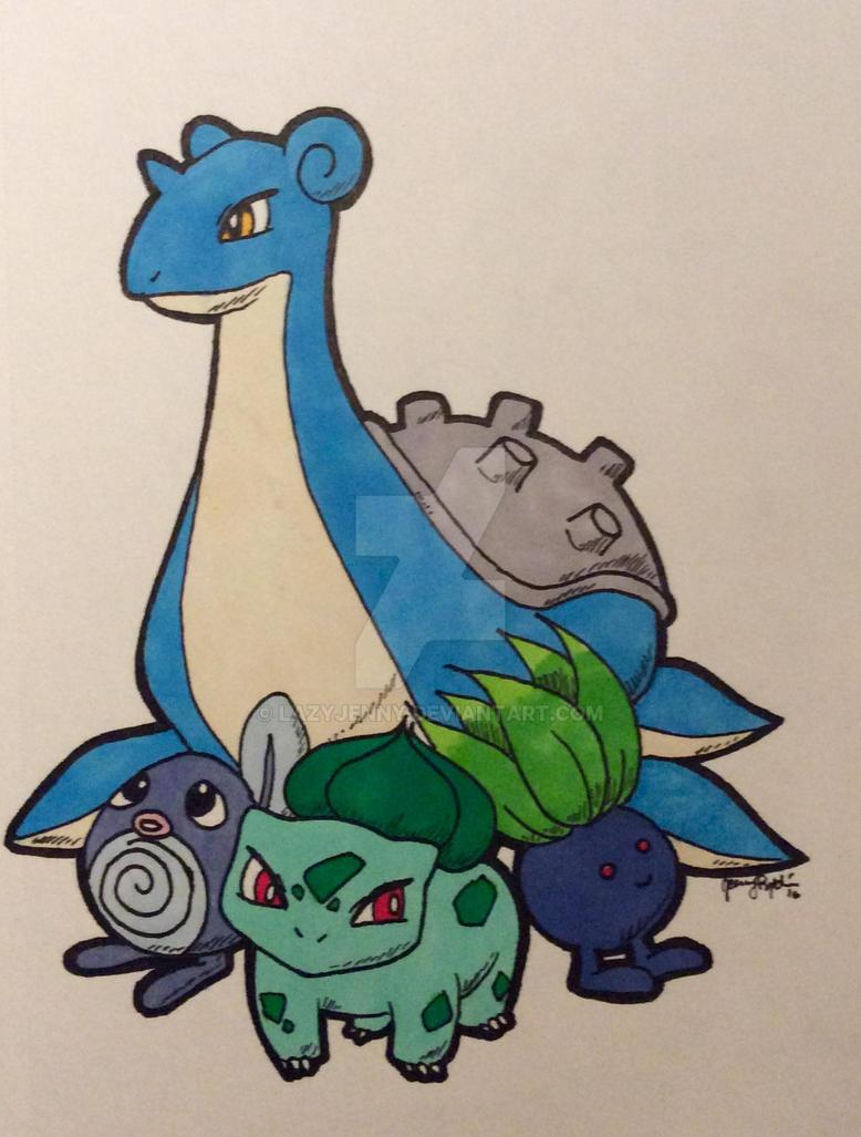 Just a Pokemon GO-doodle by LazyJenny