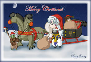 Santa claus is coming to town by LazyJenny