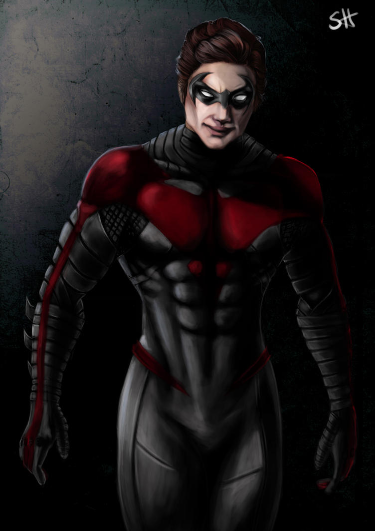 Nightwing by ElectricBrae