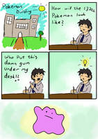 How the pokemon Ditto was made by Andmich