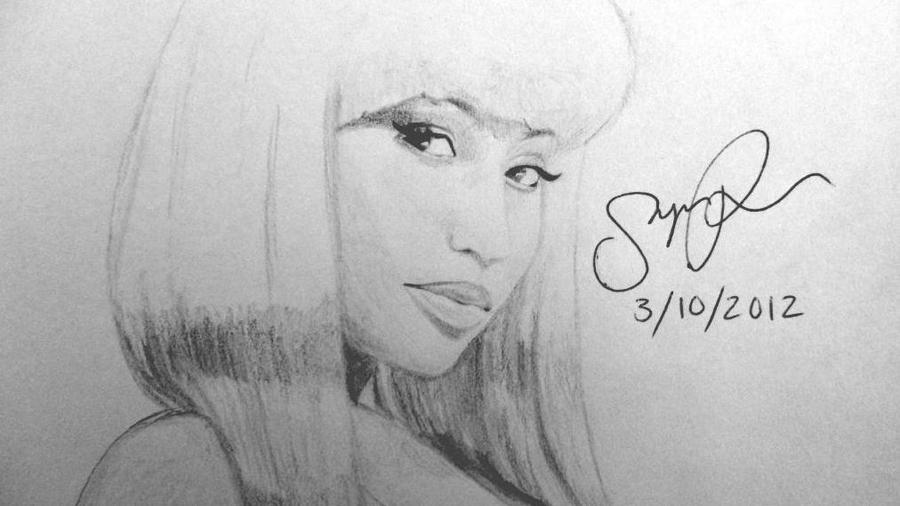 Nicki minaj drawing by sinjinphom on deviantart nicki minaj drawing by sinjinphom voltagebd Image collections