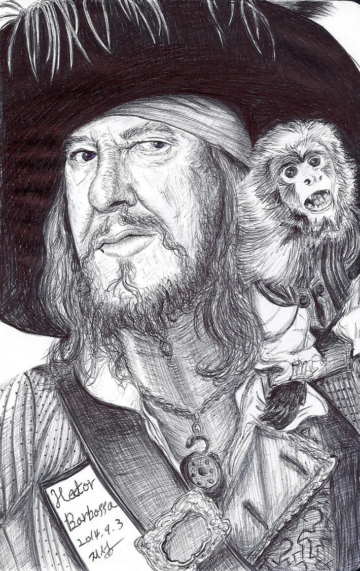 barbossa by Pulpfactory