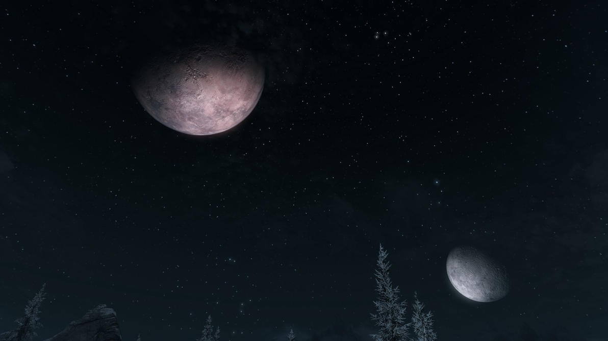 twin moons - photo #17