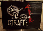 Steam Powered Giraffe duct tape logo
