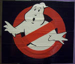 Ghost Busters duct tape logo