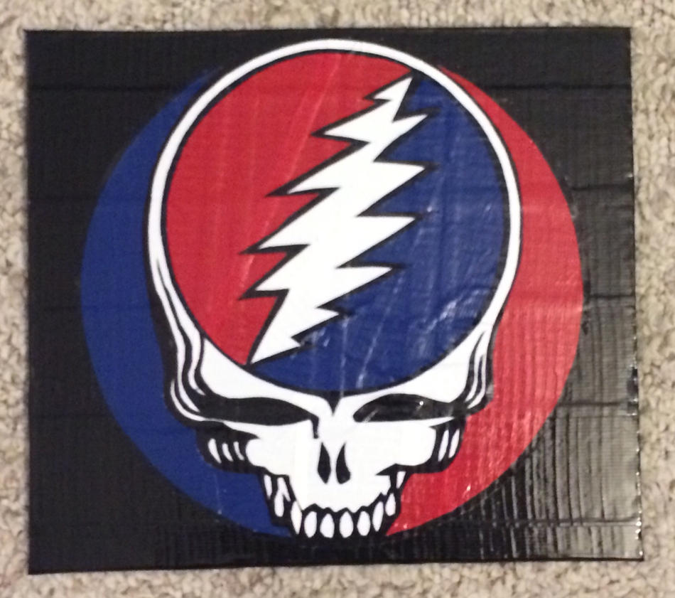 Grateful Dead Logo Duct Tape By Theducttapebassist On Deviantart