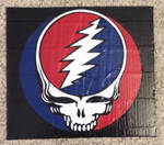 Grateful Dead logo (duct tape) by TheDucttapeBassist
