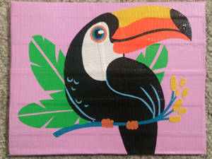 Toco Toucan (duct tape)