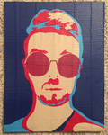 Jacksepticeye duct tape portrait by TheDucttapeBassist