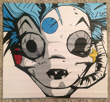 MCR Mousekat (duct tape) by TheDucttapeBassist