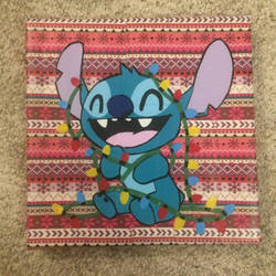 Christmas Stitch (duct tape) by TheDucttapeBassist