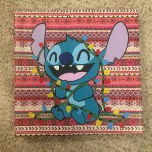Christmas Stitch (duct tape)