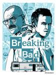 Breaking Bad Screen Print Poster