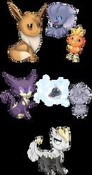 Mini-Pokesona collection by ViviTheFolle