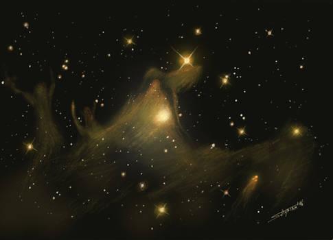 Ghost Nebula - Sh2-136