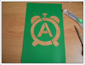 anarchist-alarm stencil