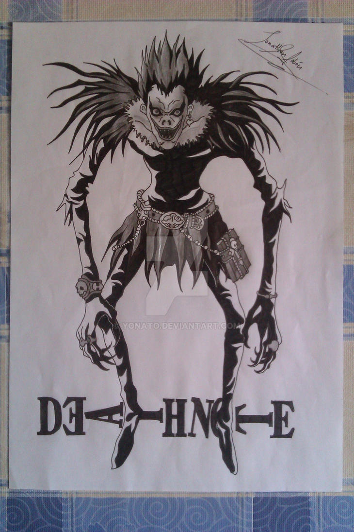 My drawings: Death Note, shinigami Ryuk by Yonato on ...