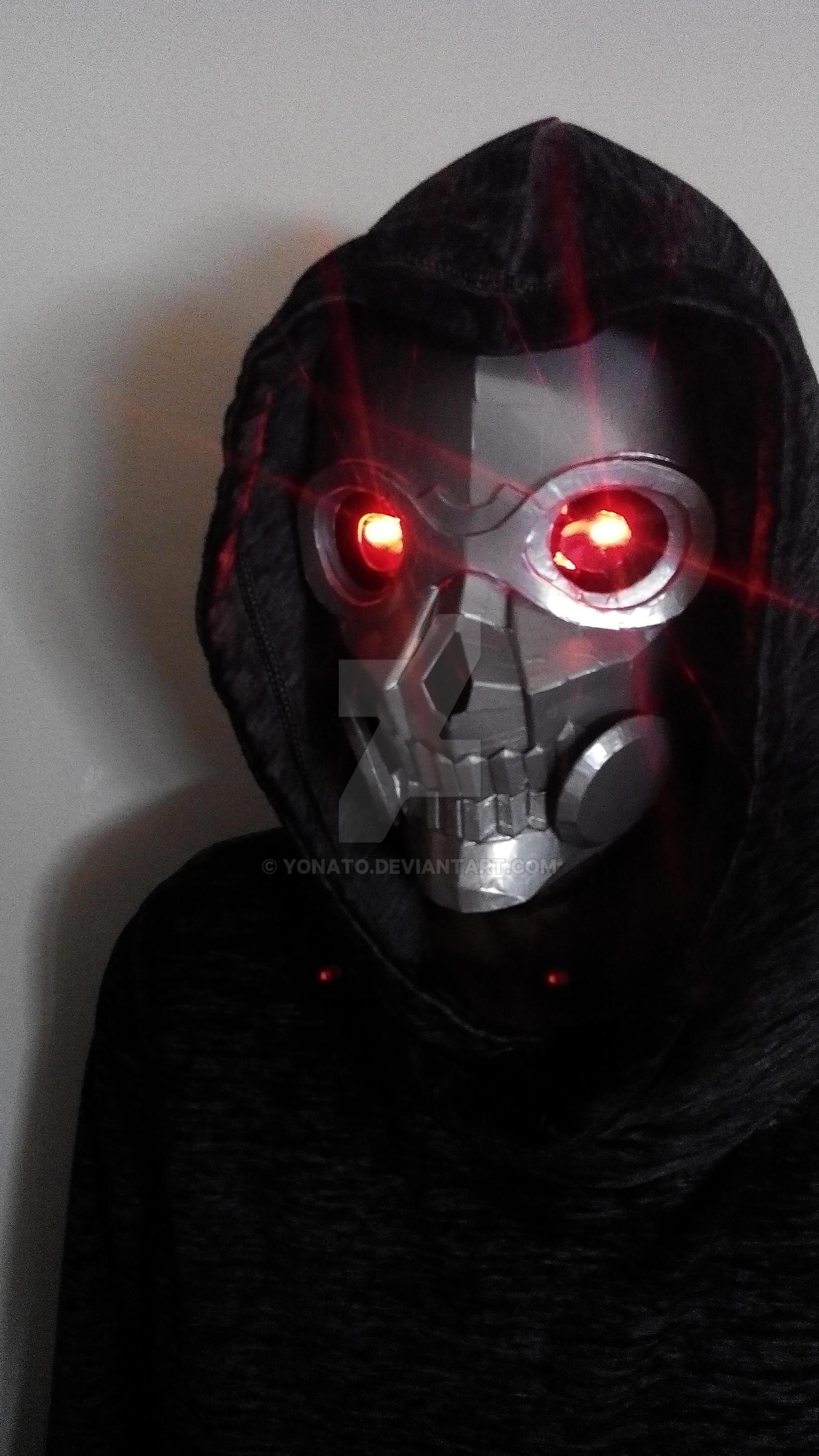 Sword Art Online II - Death Gun mask, Final result by ...