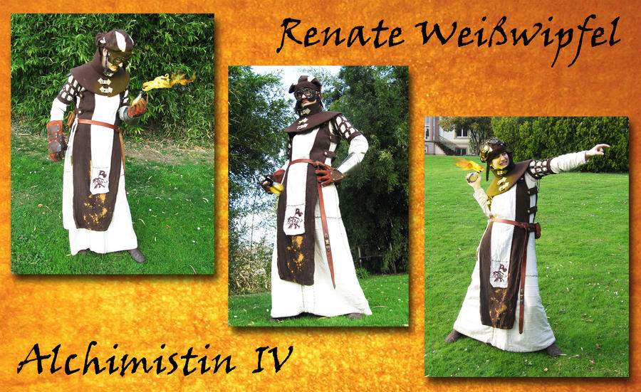 Renate Weißwipfel, Söldnerin und pyromanische Alchemistin