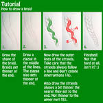 Tutorial - How to draw a braid
