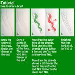 Tutorial - How to draw a braid