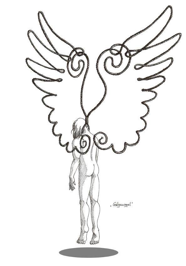 Gallows Bird by luthien368