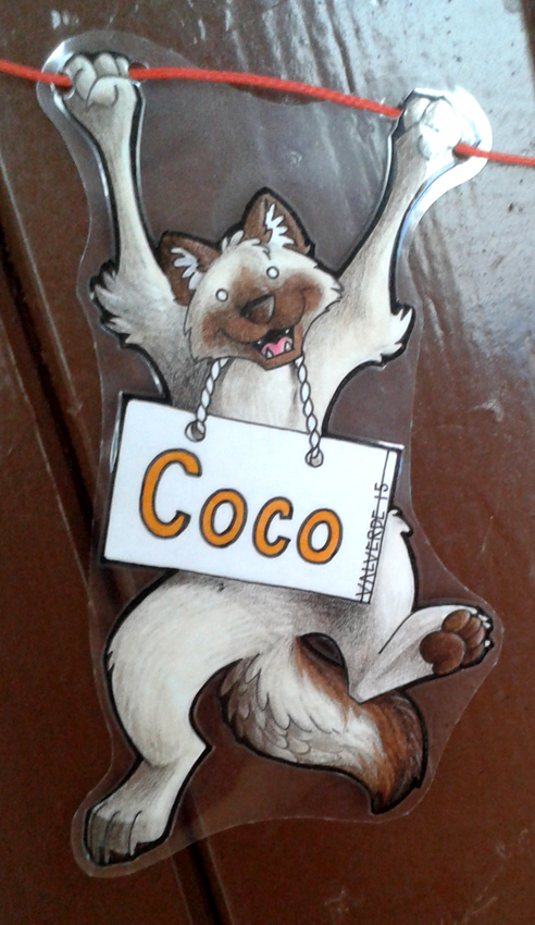 Badge/Roomsign - Coco by luthien368