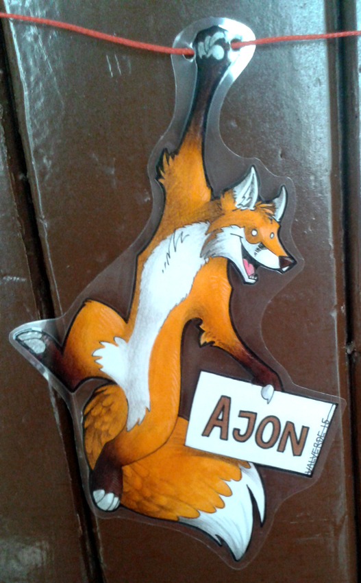 Badge/Roomsign - Ajon by luthien368