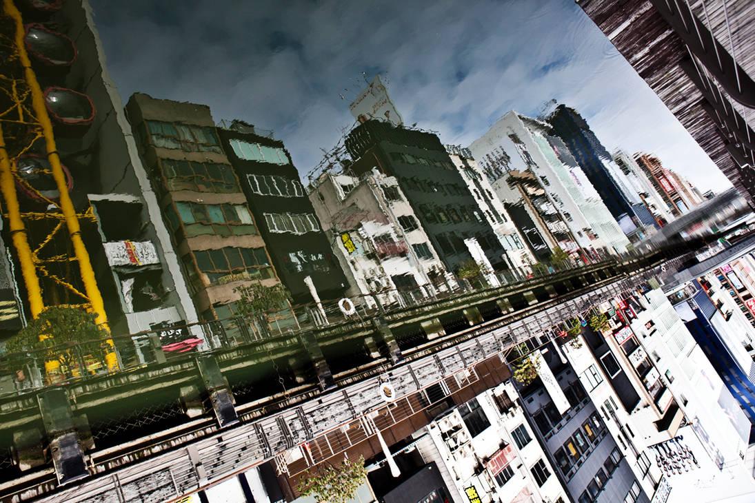 Osaka Japan Reflection