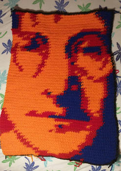 John Lennon blanket