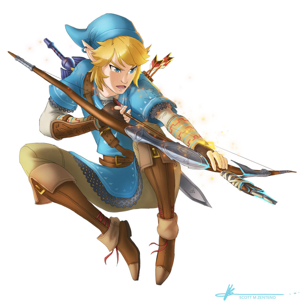LINK! Zelda Wii U/NX by Scottaphor on DeviantArt