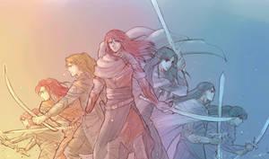 Sons of Feanor by MintKim