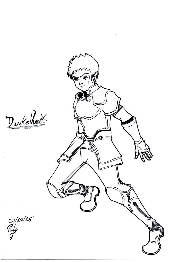 Warrior =Dunkelheit by seta4u
