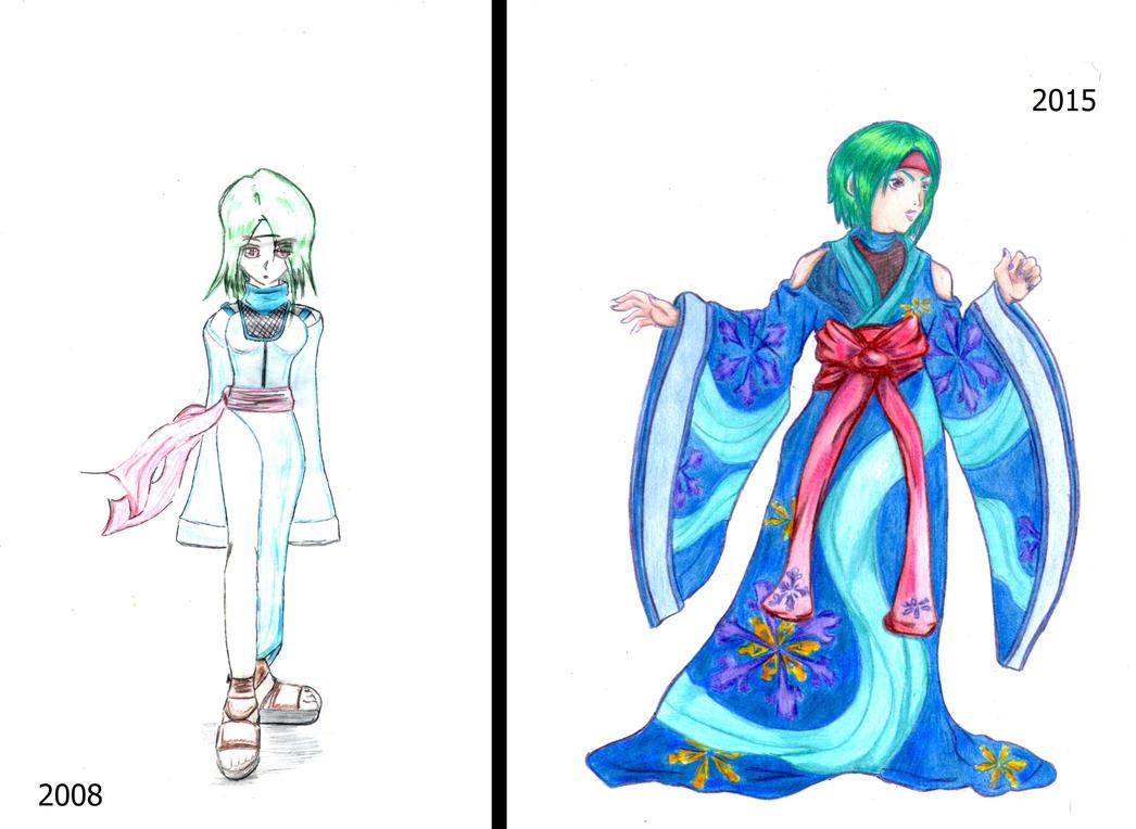 Kimono Girl by seta4u