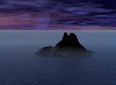 Foggy Island Night