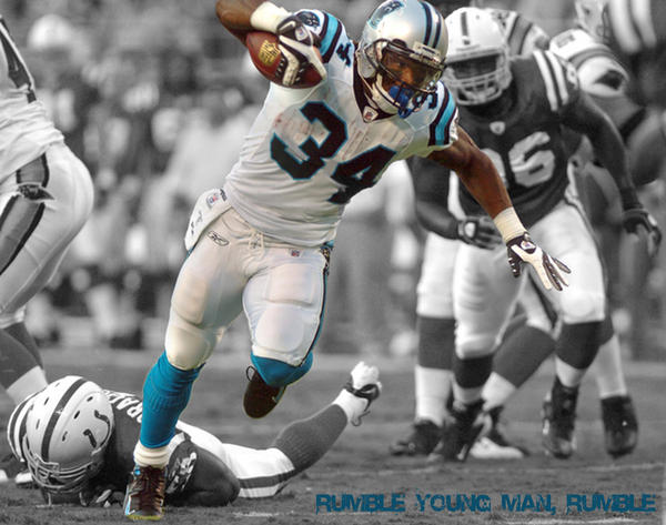 Panthers - DeAngelo Williams by Arkadium