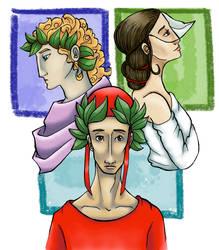 The Divine Comedy's Three