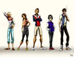 Avatar Teens by RayOcampo