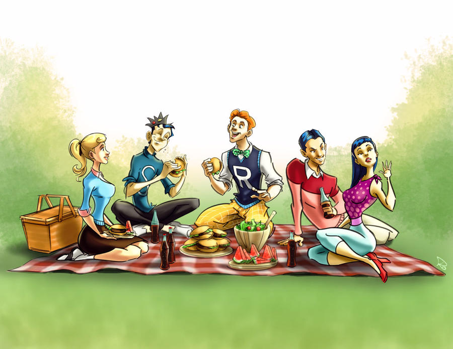 The Archies Picnic by RayOcampo