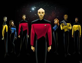 Star Trek: The Next Generation by RayOcampo