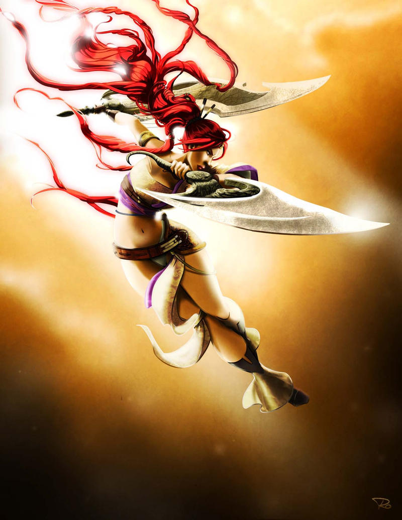 Heavenly Sword by RayOcampo on DeviantArt