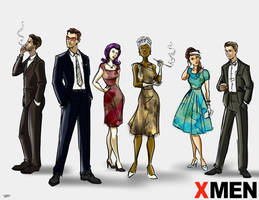 Mad X Men by RayOcampo