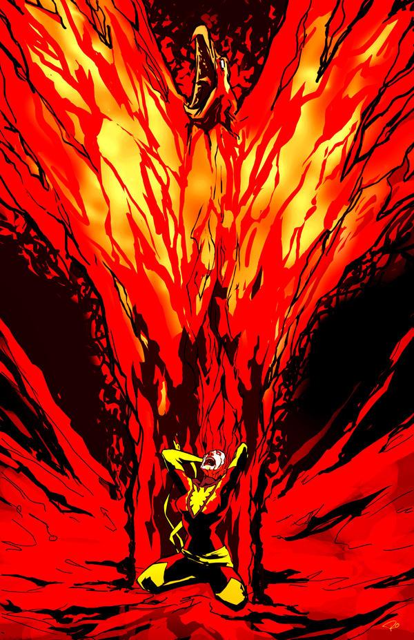 dark phoenix by rocom