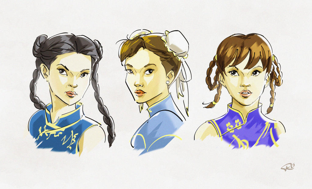 China Ladyfighters by RayOcampo
