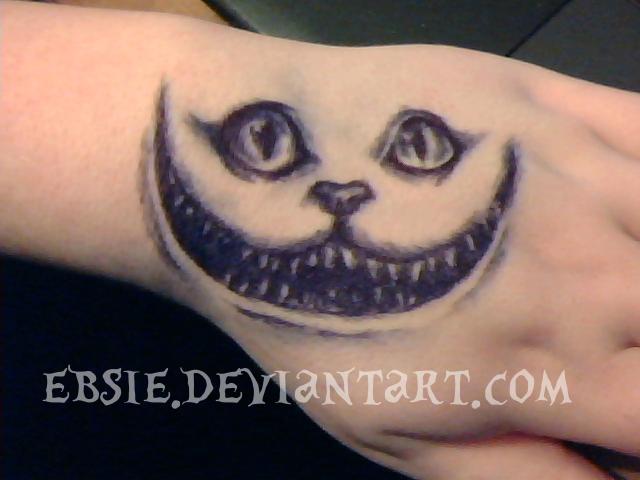 Cheshire Cat by Ebsie