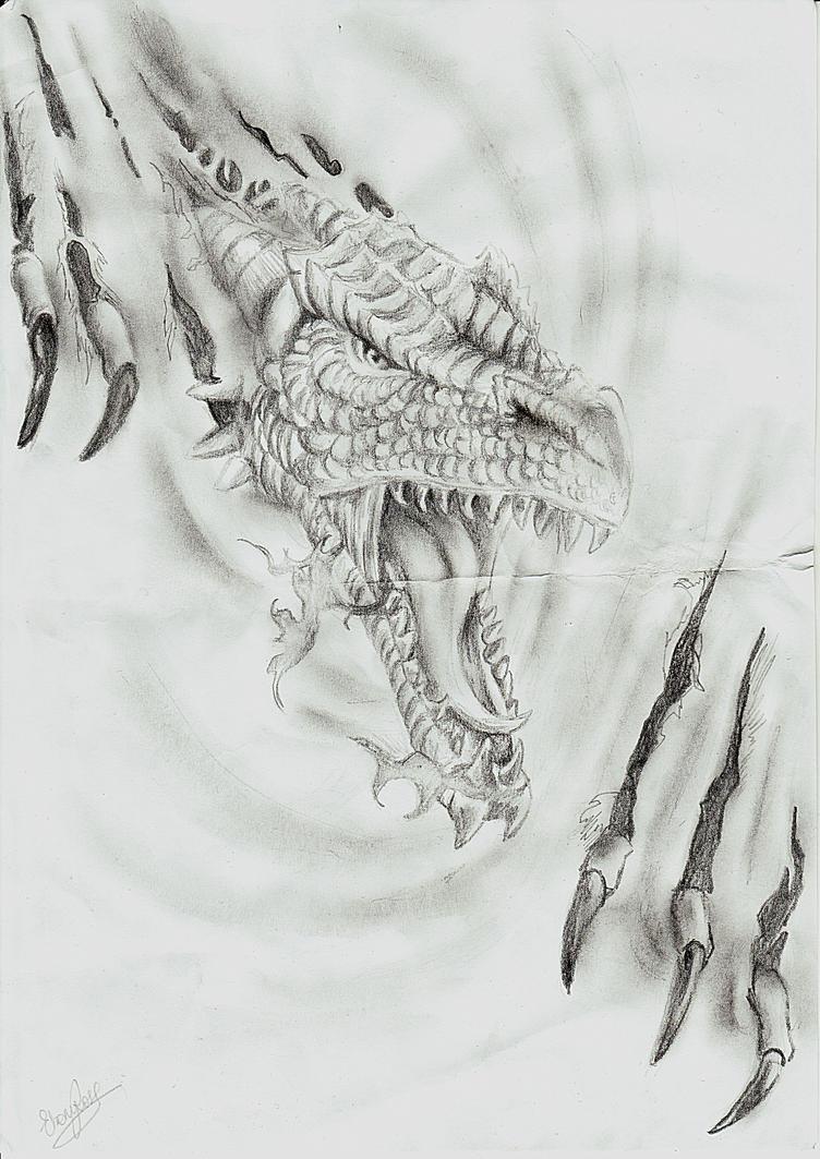 Dragon Rip Tribute By Ebsie On Deviantart