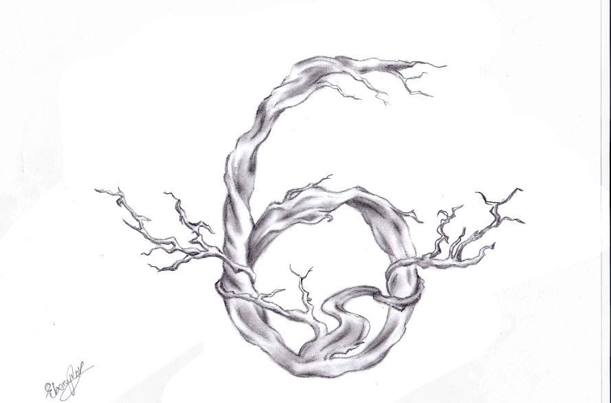 Black And White Tree Tattoo Designs Tree Tattoo Design by Ebsie